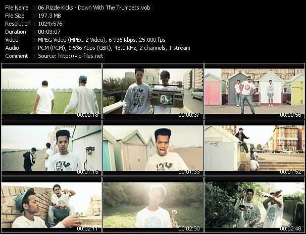 Rizzle Kicks video screenshot
