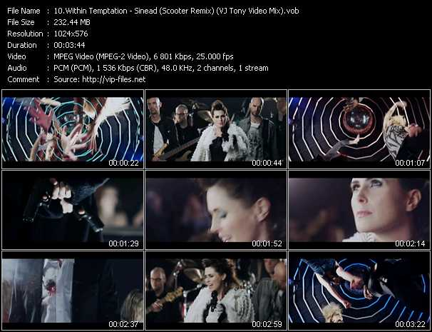 Within Temptation video screenshot