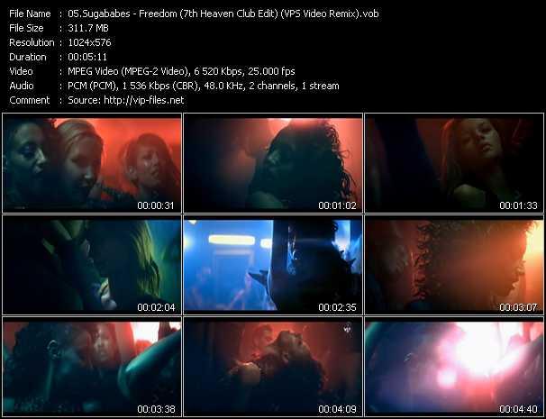 Sugababes video screenshot