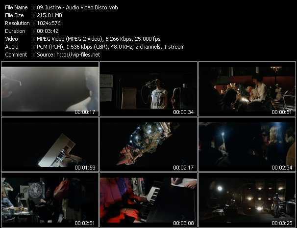 Justice video screenshot
