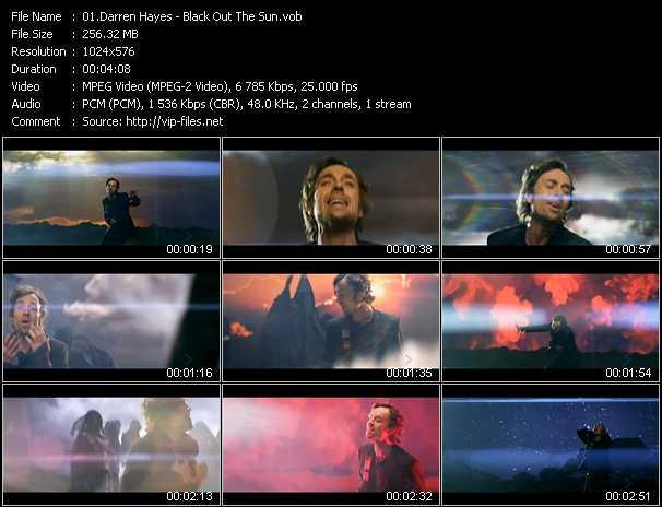 Darren Hayes video screenshot