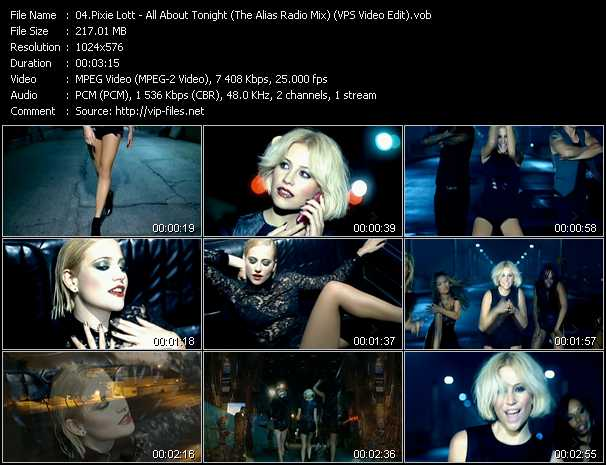 video All About Tonight (The Alias Radio Mix) (VPS Video Edit) screen