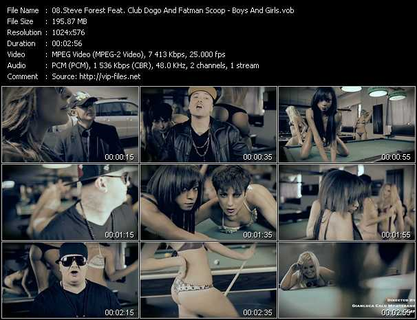 Steve Forest Feat. Club Dogo And Fatman Scoop video screenshot