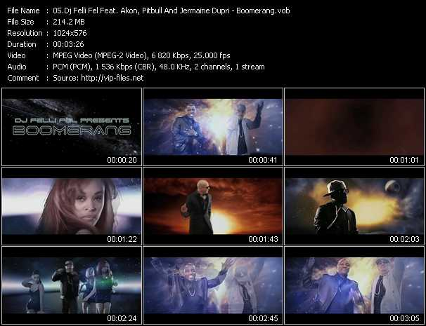 Dj Felli Fel Feat. Akon, Pitbull And Jermaine Dupri video screenshot