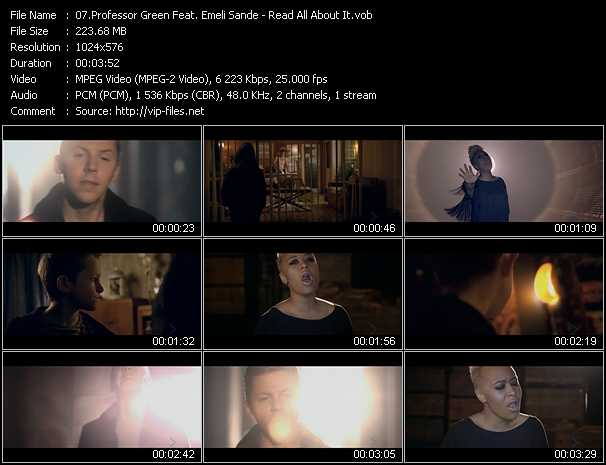 Professor Green Feat. Emeli Sande video screenshot