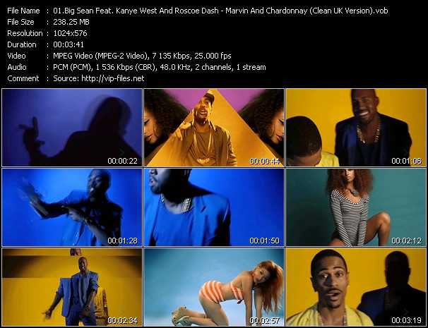 Big Sean Feat. Kanye West And Roscoe Dash video screenshot