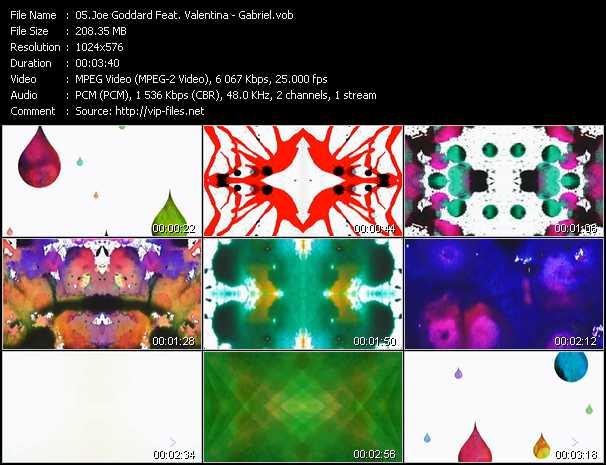 Joe Goddard Feat. Valentina video screenshot