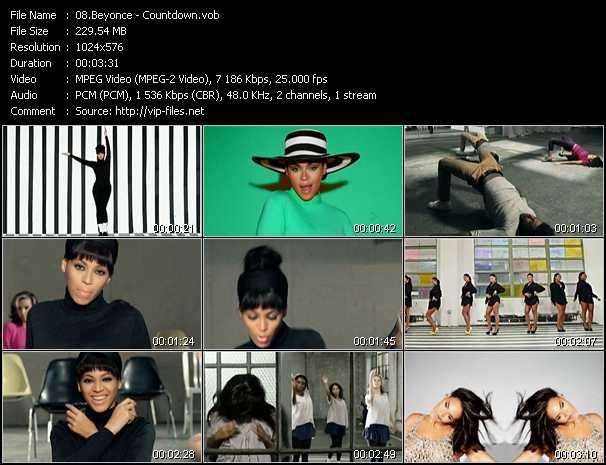 Beyonce video screenshot