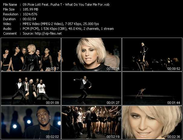 Pixie Lott Feat. Pusha T video screenshot