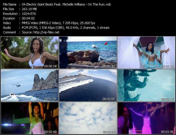 Electric Giant Beatz Feat. Michelle Williams video screenshot