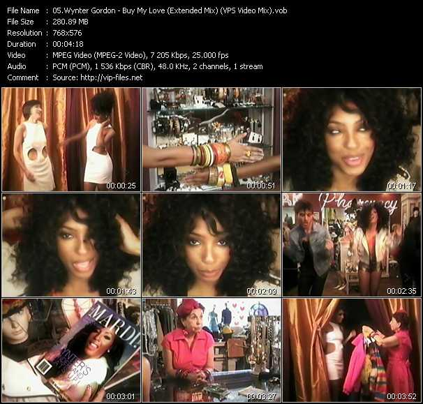 Wynter Gordon video screenshot