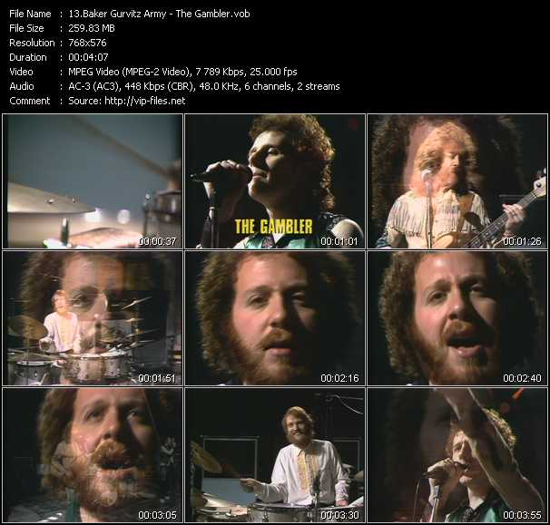 Baker Gurvitz Army video screenshot