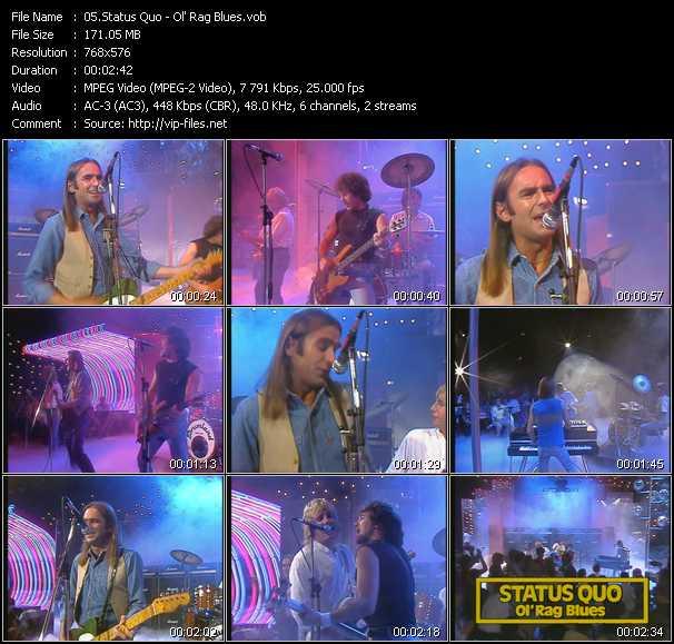 video Ol' Rag Blues (From Musikladen) screen