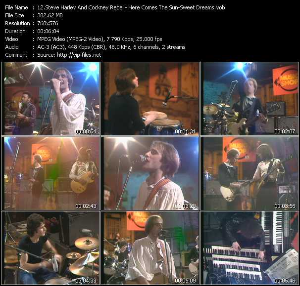Steve Harley And Cockney Rebel video screenshot