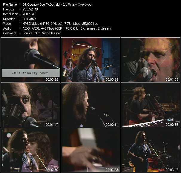 Country Joe McDonald video screenshot