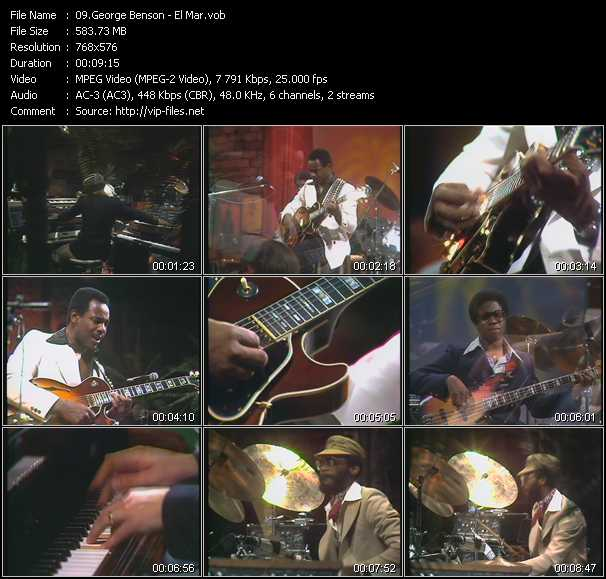 George Benson video screenshot