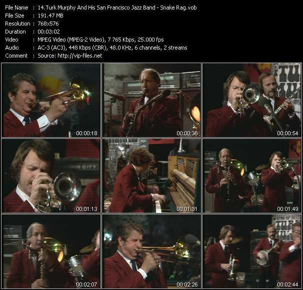 Turk Murphy And His San Francisco Jazz Band video screenshot