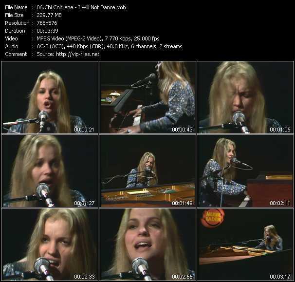 Chi Coltrane video screenshot