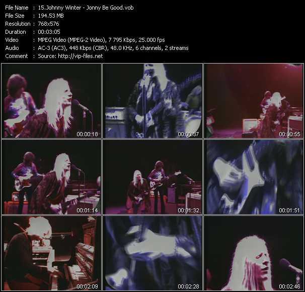 Johnny Winter video screenshot