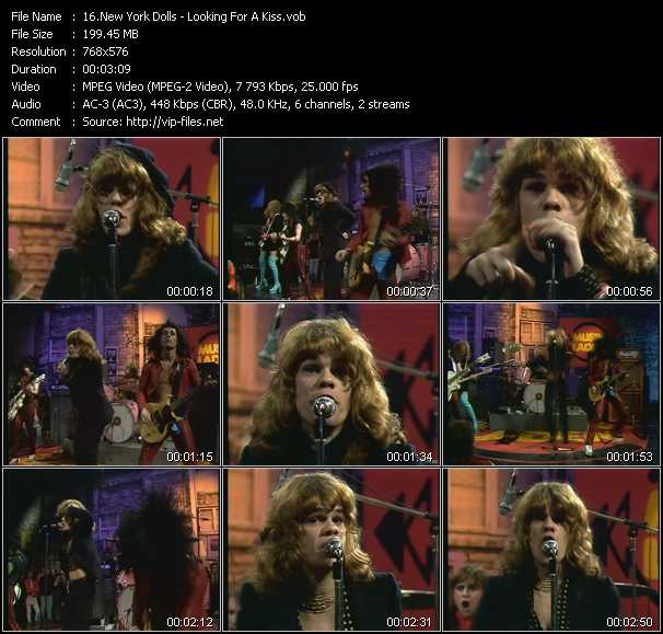 New York Dolls video screenshot