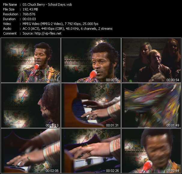 Chuck Berry video screenshot