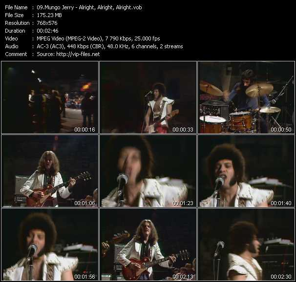 Mungo Jerry video screenshot