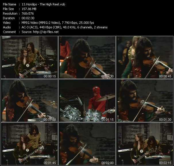 Horslips video screenshot