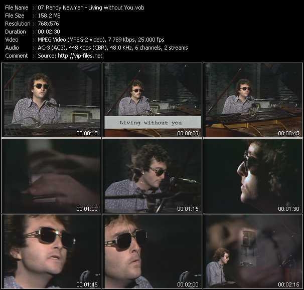Randy Newman video screenshot