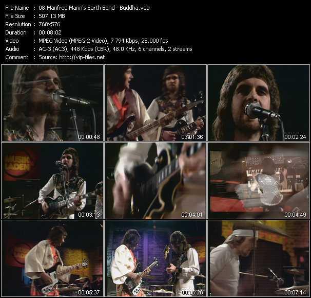 Manfred Mann's Earth Band video screenshot