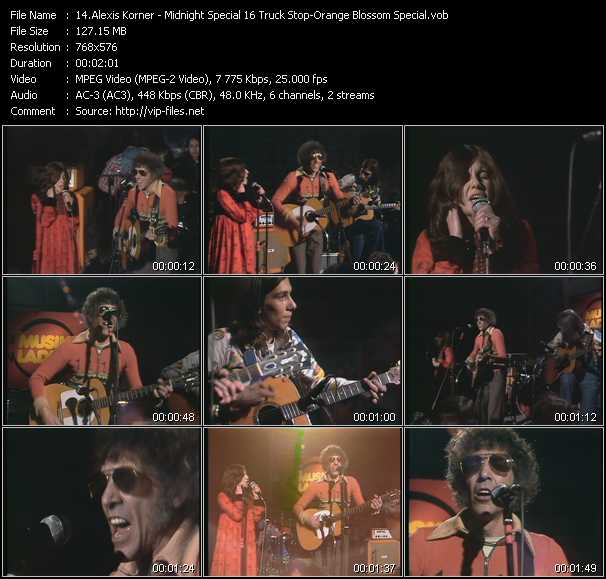 Alexis Korner video screenshot