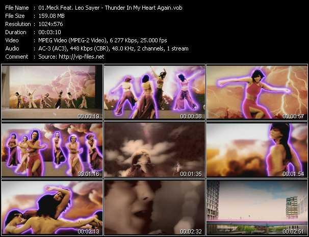 Meck Feat. Leo Sayer video screenshot