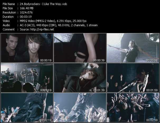 Bodyrockers video screenshot