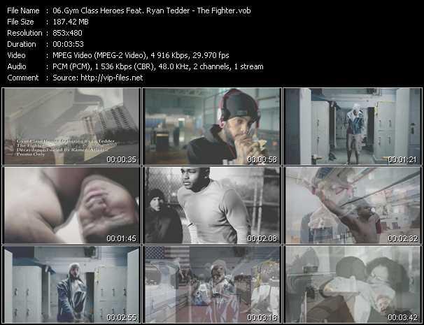 Gym Class Heroes Feat. Ryan Tedder video screenshot