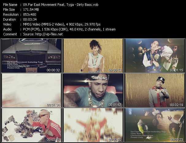 Far East Movement Feat. Tyga video screenshot