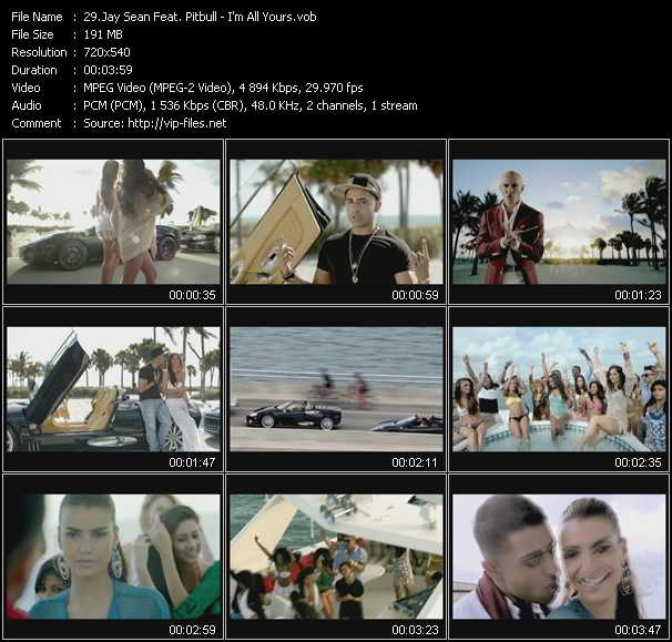 Jay Sean Feat. Pitbull video screenshot