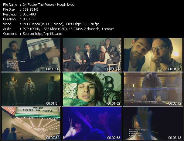 Foster The People video screenshot