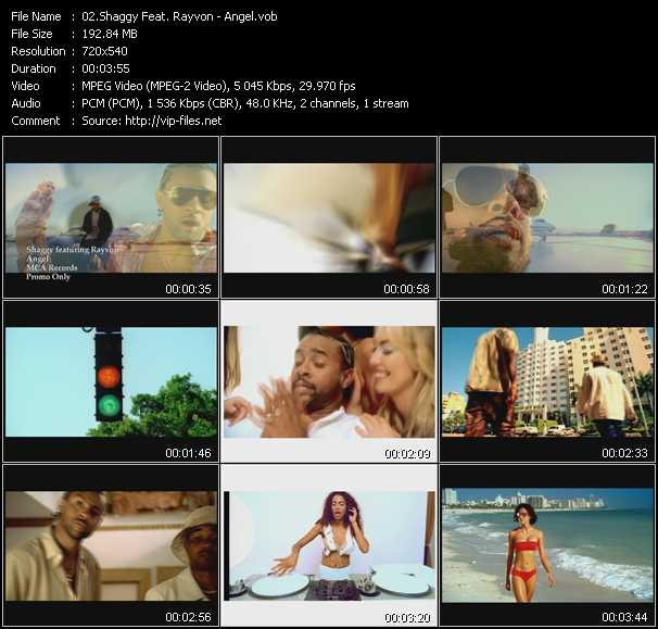 Shaggy Feat. Rayvon video screenshot