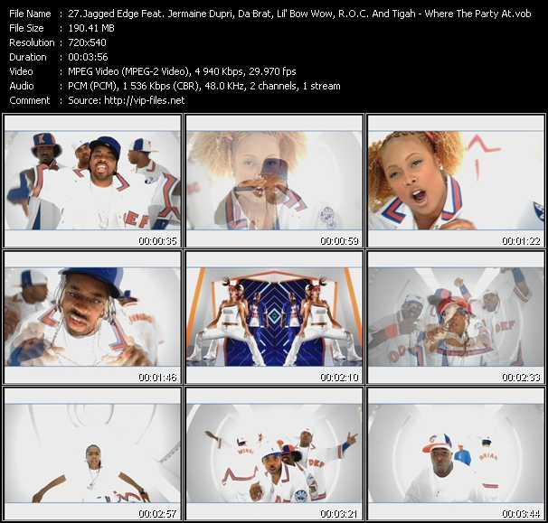 Jagged Edge Feat. Jermaine Dupri, Da Brat, Lil' Bow Wow, R.O.C. And Tigah video screenshot