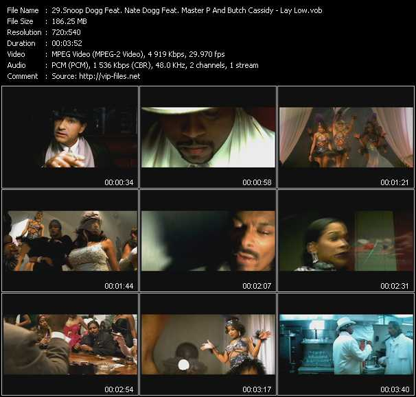 Snoop Dogg Feat. Nate Dogg, Master P And Butch Cassidy video screenshot