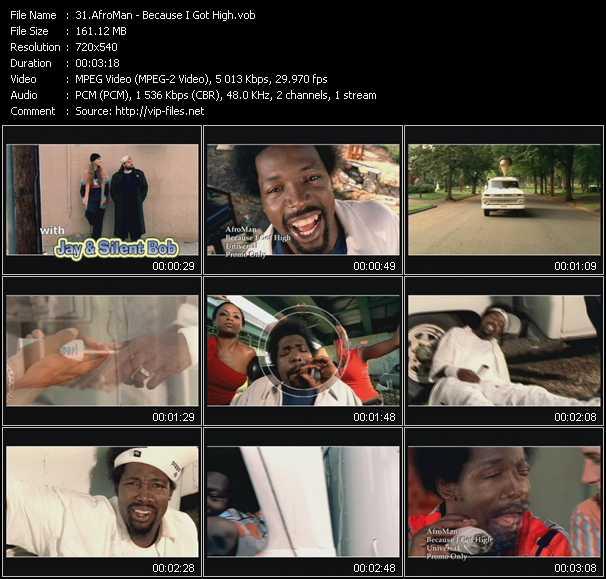 AfroMan video screenshot