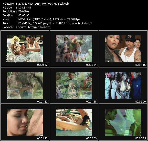 Khia Feat. DSD video screenshot
