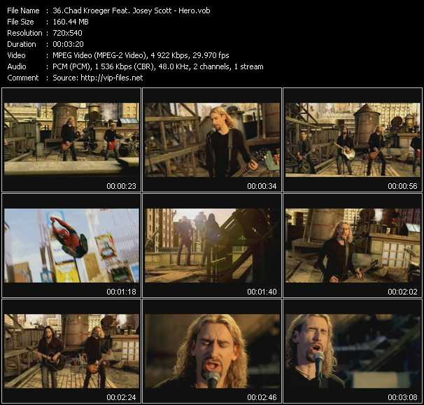 Chad Kroeger Feat. Josey Scott video screenshot