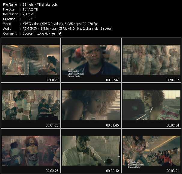 video Milkshake screen