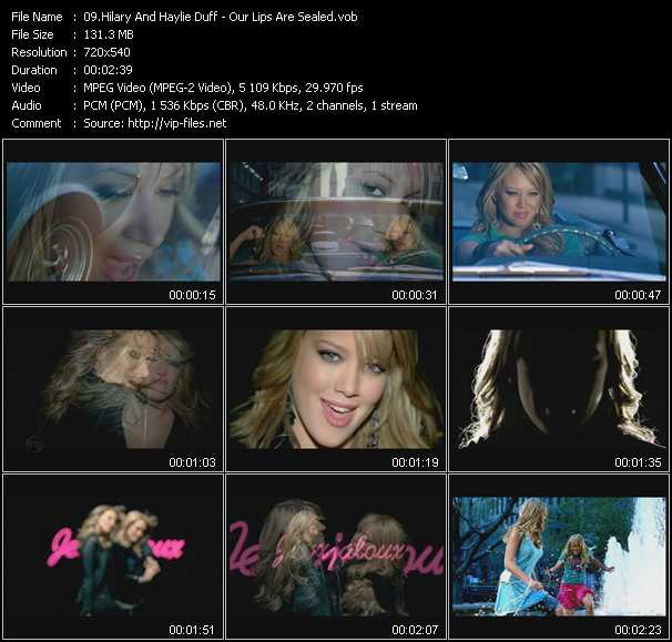 Hilary Duff And Haylie Duff video screenshot
