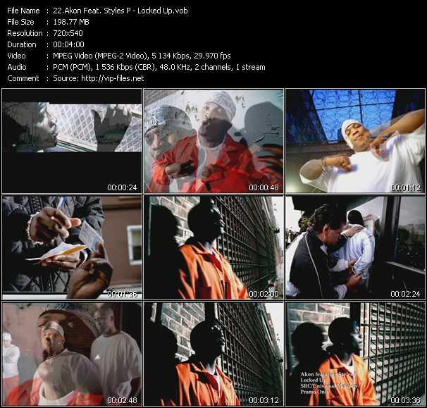 Akon Feat. Styles P video screenshot
