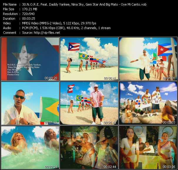 N.O.R.E. Feat. Daddy Yankee, Nina Sky, Gem Star And Big Mato video screenshot