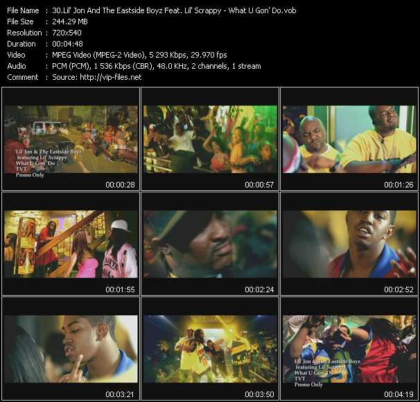 Lil' Jon And The East Side Boyz Feat. Lil' Scrappy video screenshot