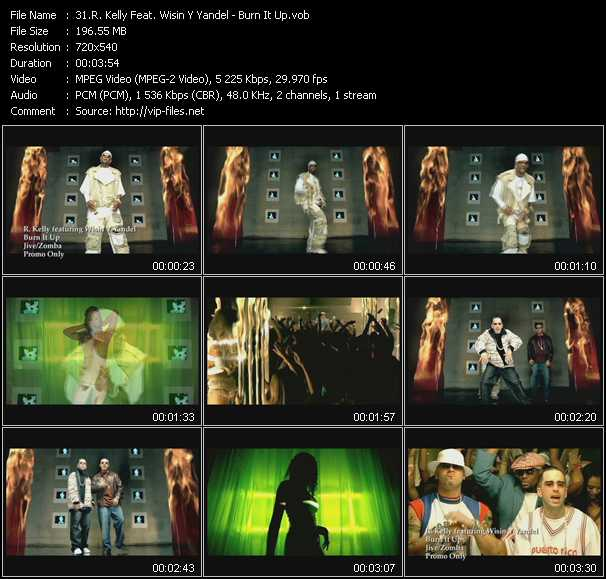 R. Kelly Feat. Wisin And Yandel video screenshot