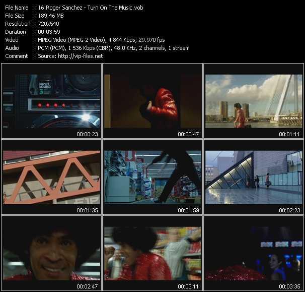 Roger Sanchez video screenshot
