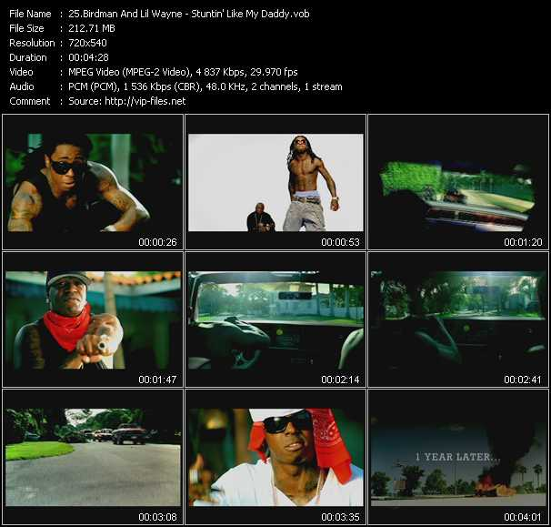 Birdman And Lil' Wayne video screenshot